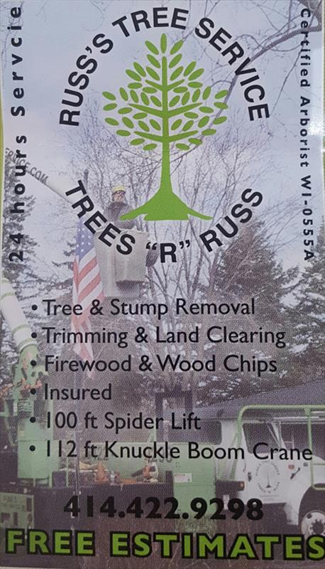 Russ's Tree Service - Tree Service - Muskego, WI - Thumb 7