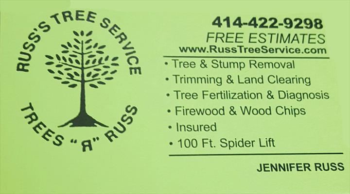 Russ's Tree Service - Tree Service - Muskego, WI - Thumb 6